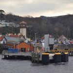 Wemyss Bay Ferry Terminal for the Rothesay Ferry
