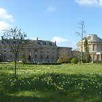 Taken from the front of the hotel showing adjacent Ickworth House