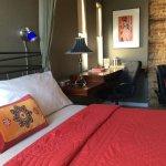 Bordello room - king bed