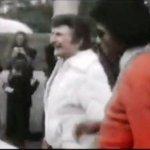 Liberace and Michael Jackson visiting England
