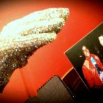 Michael Jackson's Victory Tour glove with the Liberace Museum Collection at Thriller Villa