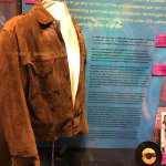 Otis Redding's suede jacket......