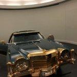 Isaac Hayes Cadillac with 24 carat gold plating......