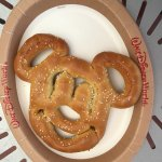 Mickey Hot Pretzel - Yum!