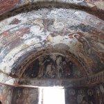 Frescos on the ceilings still appearing fresh