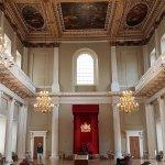 The beautiful main Hall