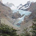 Vista desde el Mirador Glaciar Piedras Blancas (sendero Pilar-Poincenot)