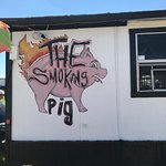 The Smoking Pig Foto