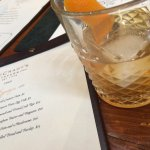 Outstanding Old Fashioned at McCradys Tavern.