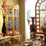 Liberace Museum Collection at Thriller Villa, the former home of his friend Michael Jackson in L