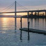 Dock and bridge view