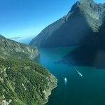 Flight out of Milford Sound - 11 am