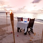 Dine on the beach...just the two of you!