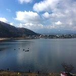Lake Kawaguchiko and Mt Fuji