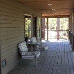 Wrap around porch on 2 sides