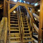 Treppe zum Turm