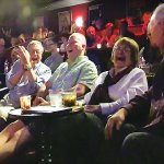 Our guests having a blast at Comedy Magic Cabaret!