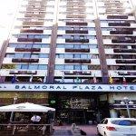 Fachada Balmoral Plaza Hotel Montevideo