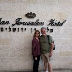 Our stay at the Dan Jerusalem Hotel