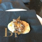 AMUSE-BOUCHE: Free appetizer to kick off he meal