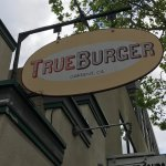 Very good burger, the bread is awesome.  We happened to stop in right around lunch time-very bus