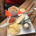 VERY GOOD CHEESE PLATE.