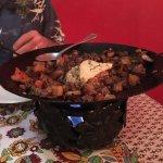 Lamb and eggplant casserole