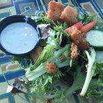 Salad was okay