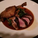 DUCK A DEUX FAÇONS- crispy confit of duck & garlic marinated duck breast