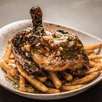 ½ Roasted Chicken & Fries at The Brew Brothers at Scioto Downs