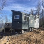 Live a Little Chatt on the top of Lookout Mountain. This is one of four tiny houses on the prope