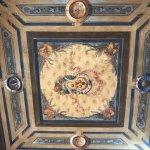 The fresco ceiling