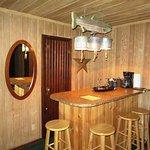 bar area near front door