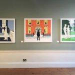 Frank Kiely's Portrait screen prints