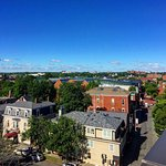 Overlooking the historic Essex Street and the Peabody Essex Museum