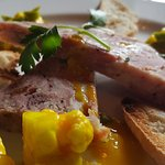 Ham hock terrine with home made piccalilli
