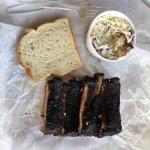 Great BBQ at Buck's Smokehouse!