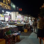 Hoi An street market at night.