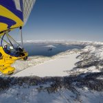 Winter activities with Hang Gliding Tahoe.