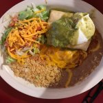 Pork Chile Verde Chimichanga