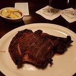 27 oz. steak with vegetables
