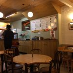 Brown's Cafe - plain and unpretentious but a real Oxford institution