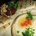 Falafel Wrap w/hummus