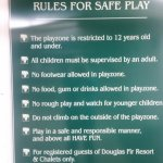 Rules for the play palace.