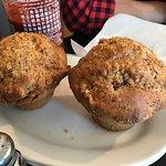 walnut banana muffin