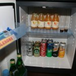 Free mini bar inital set-up