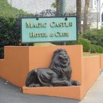 Hotel and Club Sign