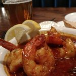 Very nice pub. Food is way above pub quality. It was excellent. Cajun shrimp with fresh hot brea