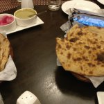 roti waiting for main course