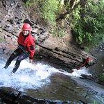 Canyoning à la rivière du Moulin à Baie-Saint-Paul.